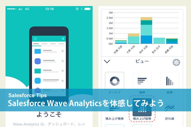 Salesforce Wave Analyticsを体感してみよう