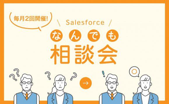[WEBセミナー]11月  Salesforce導入企業向け「なんでも相談会」